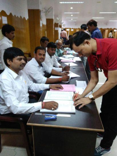आईएमए चुनावः गहमागहमी के बीच मतदान जारी, मध्य रात्रि तक आयेगा परिणाम