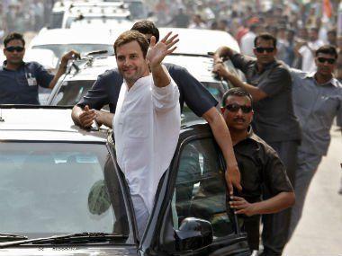 राहुल गांधी के रोड-शो में मुस्लिम बहुल इलाकों को तवज्जो