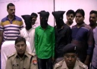 बुलंदशहर से पुलिस अभिरक्षा से फरार तीन आरोपी मुठभेड़ में गिरफ्तार