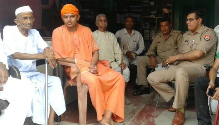 गांधी जयंती पर वयोवृद्ध गांधीवादी नेता चिम्मनलाल जैन घर में नजरबंद!