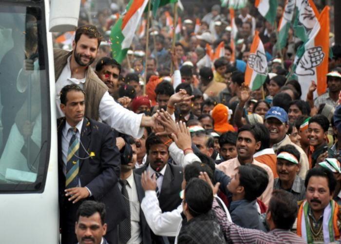 Image result for राहुल गांधी की रैली