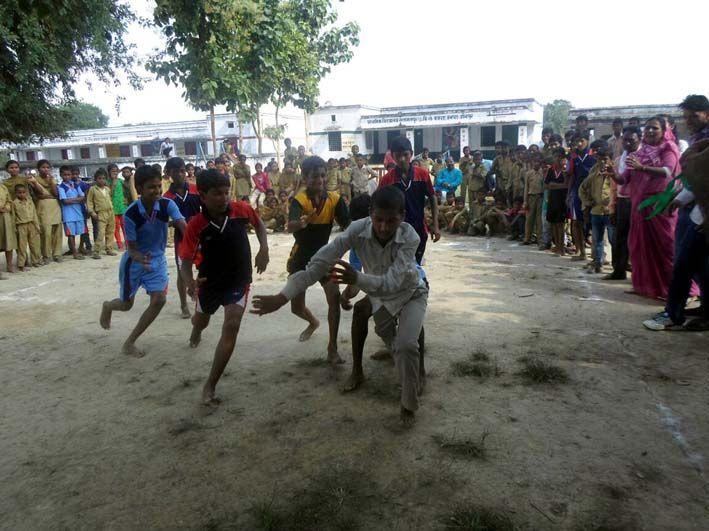 मयन्दीपुर ने हासिल किया प्रतियोगिताओं में पहला स्थान
