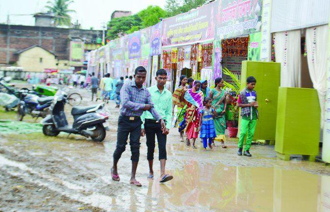 तीसरे दिन भी बारिश, पर्व व लोकोत्सव पर असर