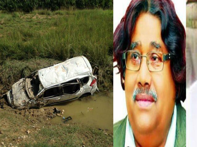 डुमरियागंजविधायक के काफिले की कार का एक्सीडेंट, परिवार के छह लोग घायल