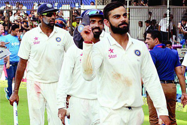 टेस्ट प्लेयर रैंकिंग में नंबर 3 पर पहुंचे कोहली, अब नंबर वन पर विराट 'निगाहें'