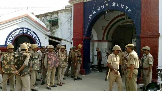 गोरखपुर जेल में बवाल: 15 कैदियों के खिलाफ केस, मामले की मजिस्ट्रेटी जांच के भी आदेश