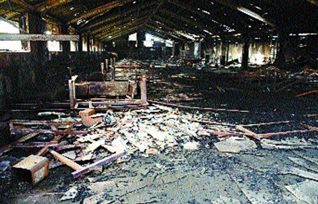 जेसप कारखाने में अग्निकांड का कारण जांचेगी सीआईडी