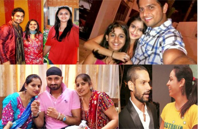 Indian cricketers sisters