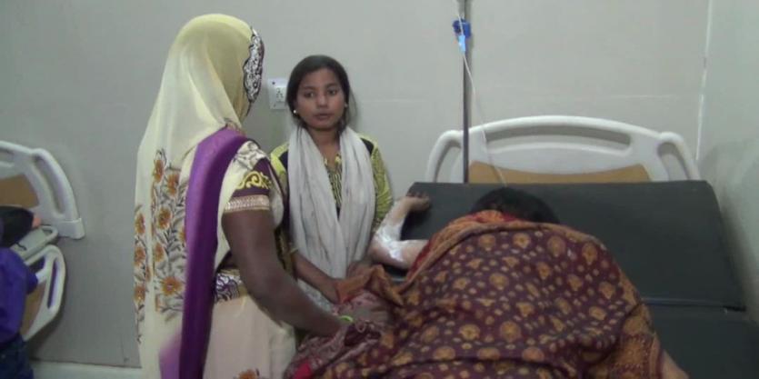 सिलेंडर रिसाव से विस्फोट, महिला की मौत