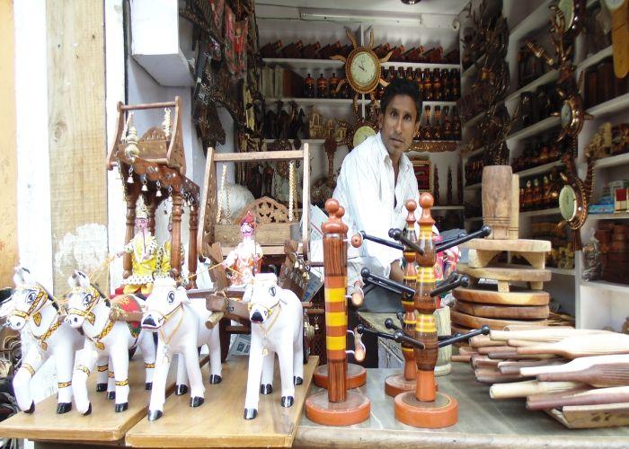 श्योपुर शहर की पहचान है खरादी बाजार