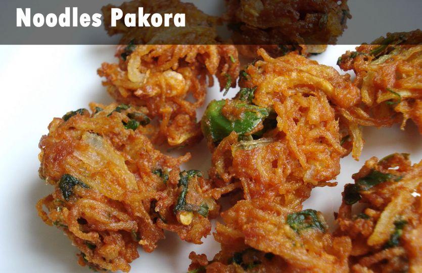 #Breakfast: इंडो चायनीज फूड लवर्स बनाएं नूडल्स पकोड़ा
