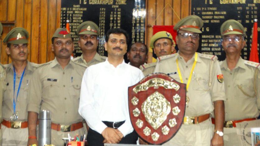 #UPPOLICEक्राइम इंवेसटिगेशन में गोरखपुर पुलिस को मिला पहला स्थान