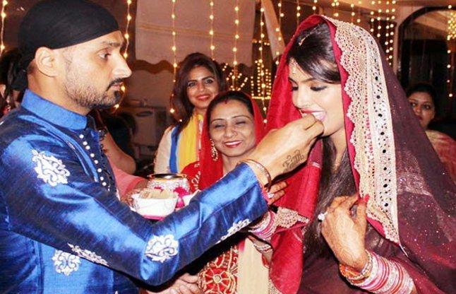cricketers wife karva chauth celebration photos
