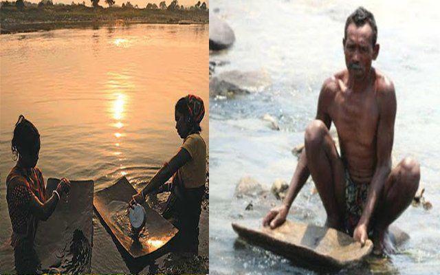 झारखंड के इस क्षेत्र में 15-20 सालों से लोग निकल रहे सोना, सरकार बेखबर