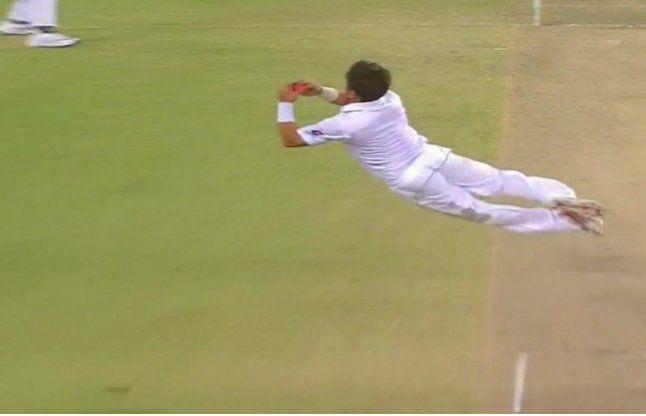 यासिर ने अपनी गेंद पर लपका ब्रावो को अविश्वसनीय कैच, वीडियो वायरल