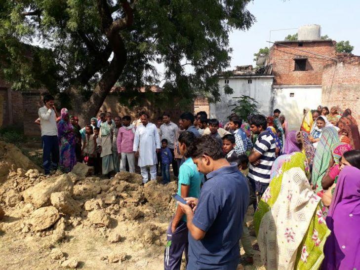 चोलापुर में दीवार गिरने से दो मासूमों की मौत