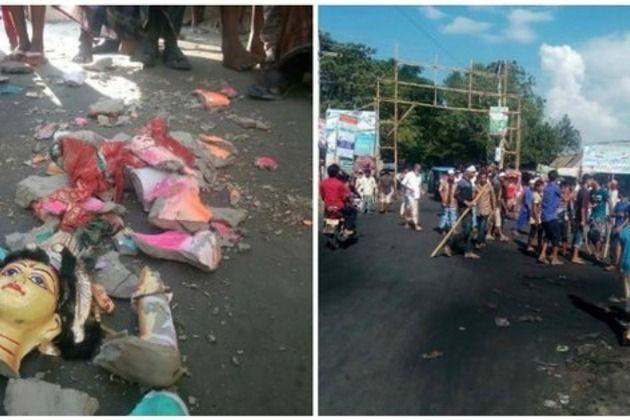 बांग्लादेश में 15 हिंदू मंदिरों पर हमला, 100 घरों में लगाई आग