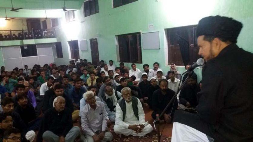 शिया जागरण मंच के राष्ट्रीय अध्यक्ष जौनपुर में किस जुल्म की याद दिलाई