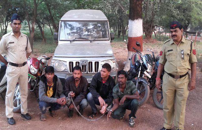 चोरी के चार पहिया वाहन में घूम रहा था अन्तरराज्यीय गिरोह का सरगना
