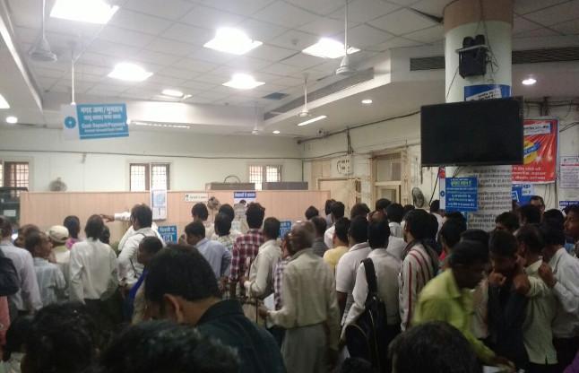 queue in chhattisgarh bank