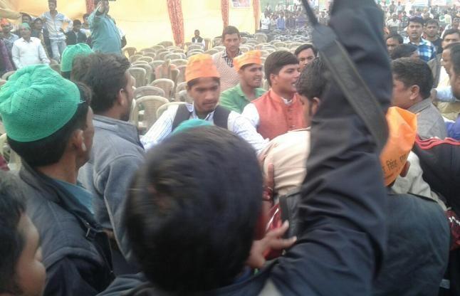 टिकट के लिए सुरेश राणा के सामने भिड़े भाजपाई