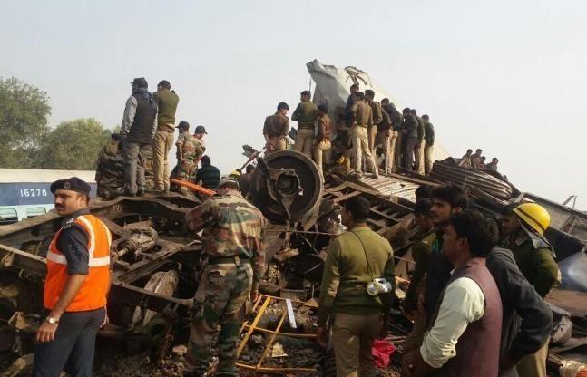 वरिष्ठ भाजपा नेता ने दिया विवादित बयान, कानपुर रेल हादसे को बताया साजिश