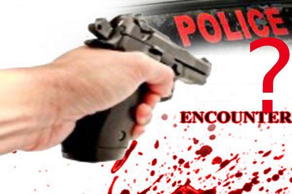 पुलिस मुठभेड़ में कुख्यात बदमाश मारा गया