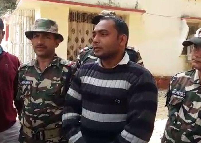 नेपाल जा रही करोड़ों की हीरोइन संग तस्कर गिरफ्तार