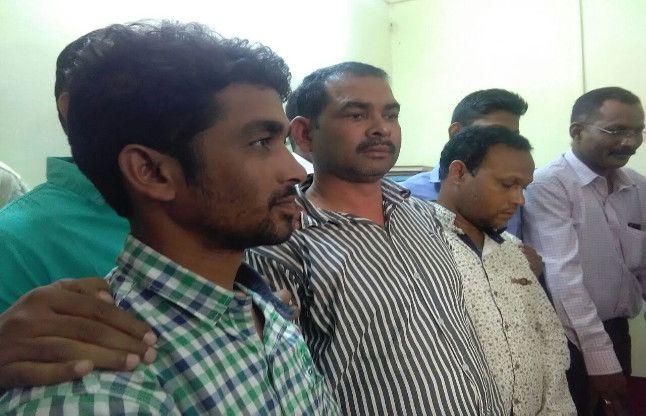 क्राइम ब्रांच की टीम ने जब्त किए 225 नग हीरा, तीन आरोपी गिरफ्तार