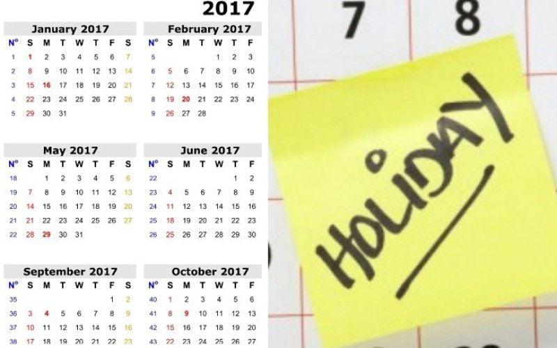 Calendar Jammu : Calendar for up government and festival holidays list