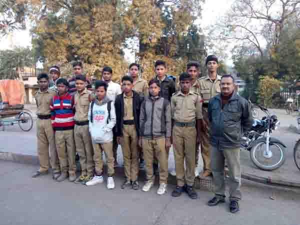 नरसिंहपुर के कैडेट्स कोल्हापुर में दिखाएंगे ट्रैकिंग के हुनर