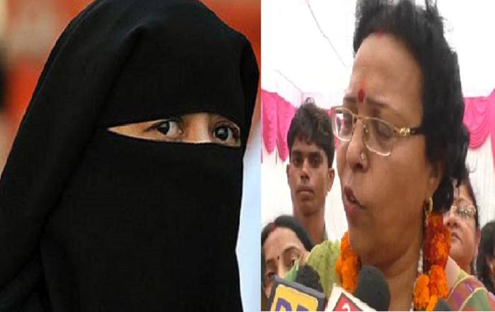 भाजपा नेत्री ने तीन तलाक मुद्दे को लेकर मुस्लिम महिलाओं पर दिया बड़ा बयान