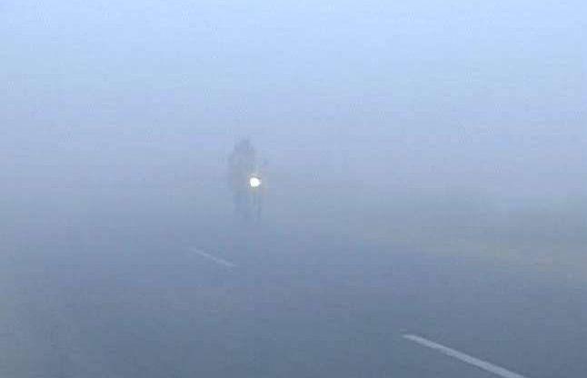 कोहरा: यमुना एक्सप्रेस वे पर 12 गाडिय़ों की टक्कर में 2 की मौत