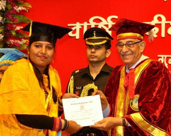 गोल्ड मेडलिस्ट प्रतिभा ने कहा- संस्कृत में रूझान बढ़ाने का करूंगी प्रयास