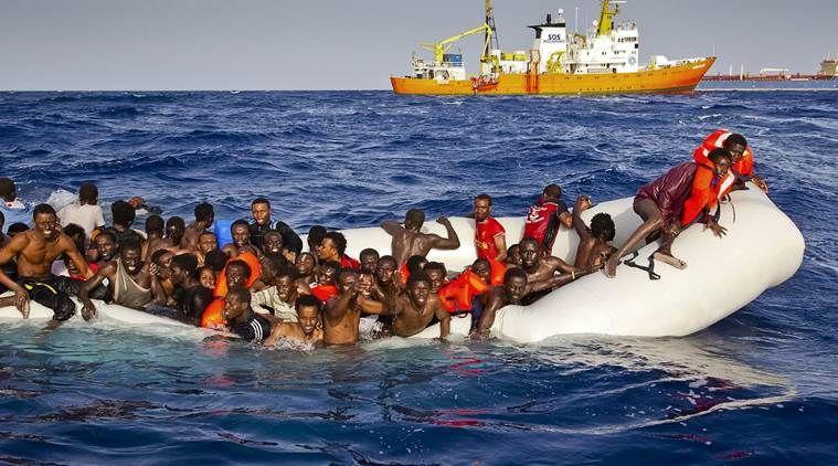 यूरोप पहुंचने की कोशिश में 4700 विस्थापितों की मौत