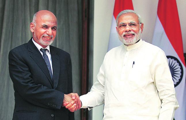 पाकिस्तान को मिलकर घेरेंगे भारत और अफगानिस्तान