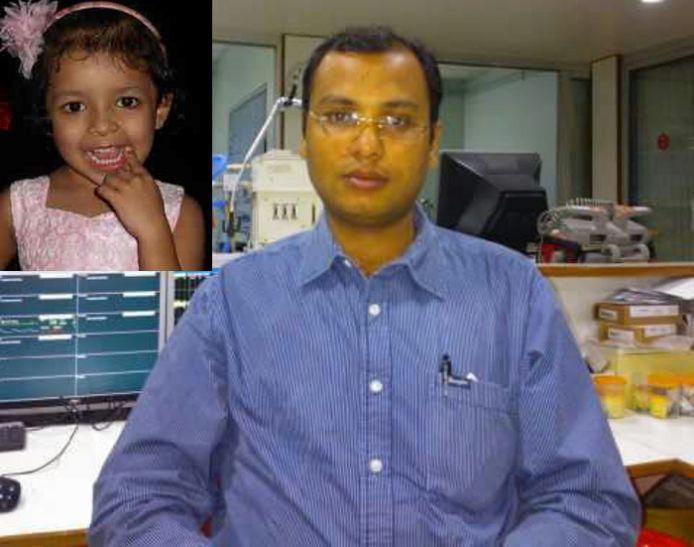 बेटी कमरे में बंद थी, उसे बचाने गए डॉक्टर पिता की बालकनी से गिरने से मौत