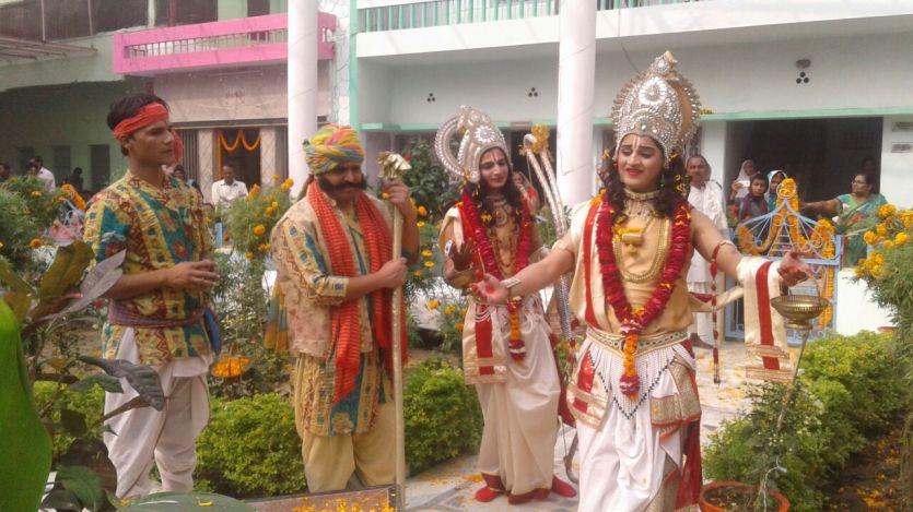 देखें तस्वीरें : राम विवाह के मौके पर अयोध्या में उतर आया है देवलोक