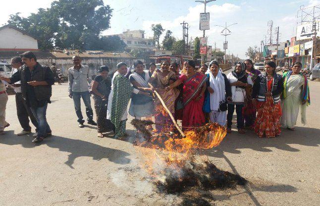भाजपा नेत्री ने बस्तर की महिलाओं के लिए की यह गंदी बात, भड़का गुस्सा