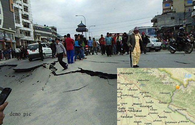 उत्तराखंड में 5.2 की तीव्रता का भूकंप, दिल्ली-NCR, नेपाल भी कांपा