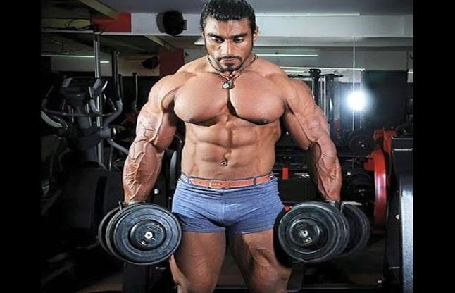 sangram chougule indian bodybuilder