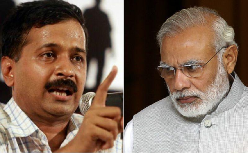 Image result for google kejriwal vs modi
