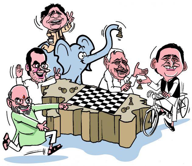 चुनाव हारने की डर से गोलबन्दी में जुटा विपक्ष: बीजेपी
