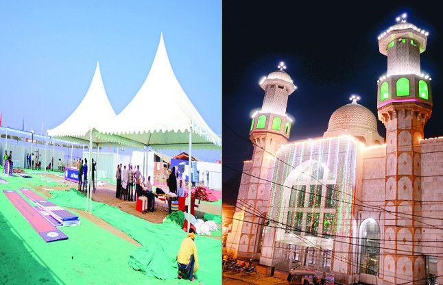 शाह की सभा और ईद के जुलूस में न हो दिक्कत इसलिए बदले गए शहर के रूट