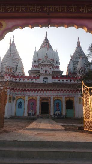 नरसिंह भगवान के नाम पर बसा है नरसिंहपुर, मंदिर हो रहा जर्जर