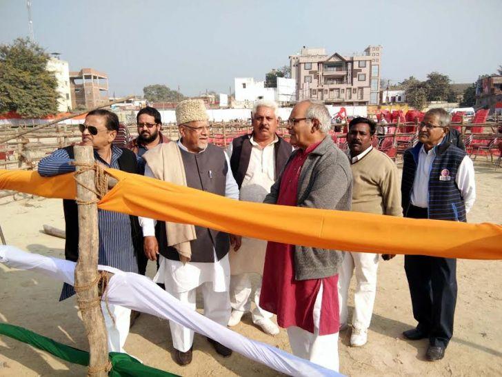 राहुल गांधी की जौनपुर जनाक्रोश रैली, 2.30 बजे पहुंचेंगे सभा स्थल