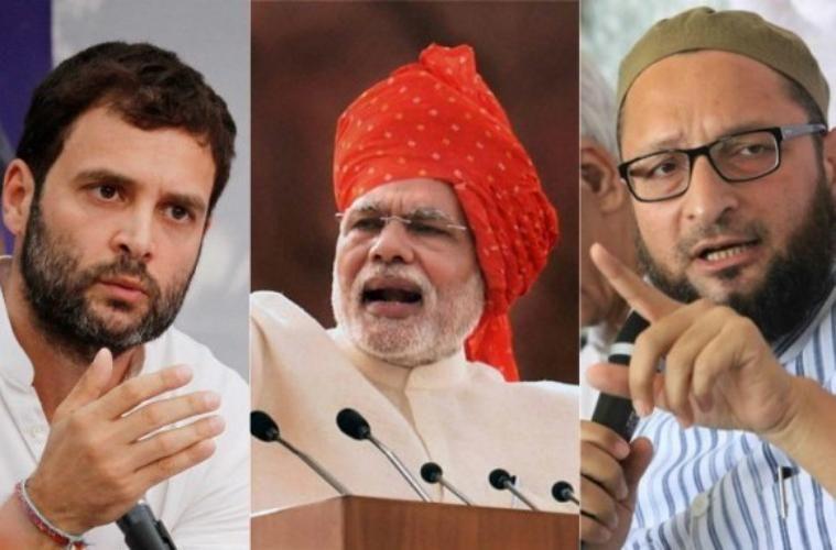 जौनपुर,सिद्धार्थनगर में राहुल-ओवैसी का हल्ला बोल, कानपुर में मोदी ने पीटा विकास का ढोल