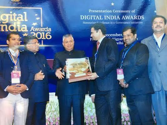 कलेक्टर अविनाश लवानिया को डिजिटल इंडिया अवार्ड