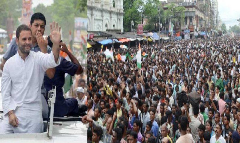 नोटबंदी के खिलाफ आज जौनपुर में गरजेंगे राहुल, एक लाख से ज्यादा भीड़ जुटने का दावा