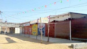 चोर हुए सक्रिय, पुलिस हुई सुस्त, व्यापारियों ने दुकान बंद कर जताया विरोध